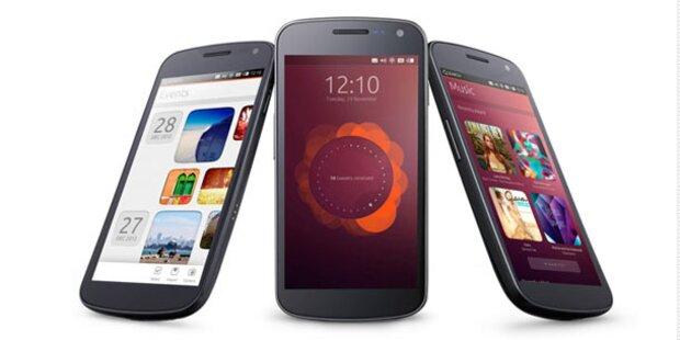 Ubuntu stellt Smartphone OS vor