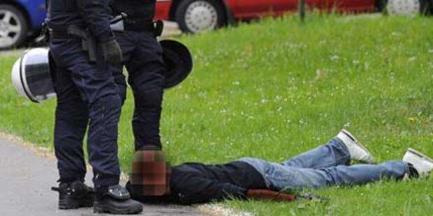 Profi-Gangster nach brutalem Raub im Knast