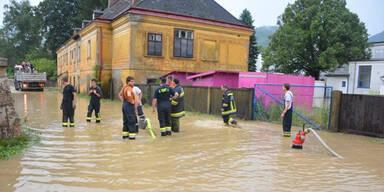 Stark-Regen ohne Ende über Österreich