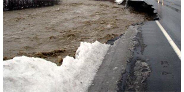Überschwemmungen halten Slowakei in Atem