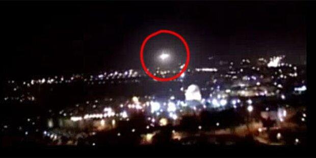 UFO-Alarm über dem Tempelberg