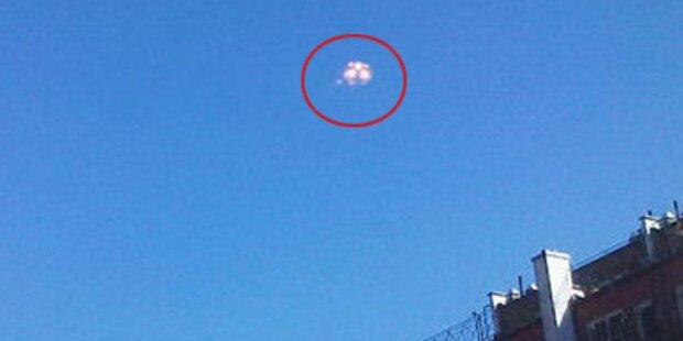 UFO-Panik in Manhattan