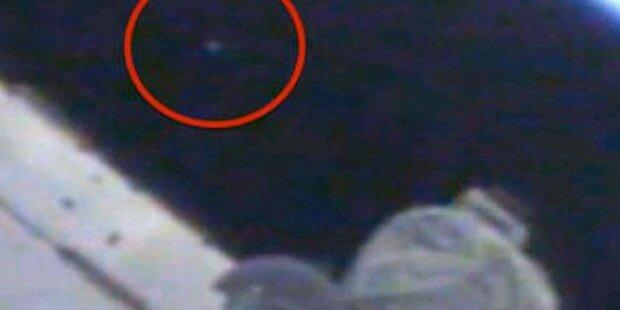 Webcam entdeckt Ufo, bevor sie abschaltet