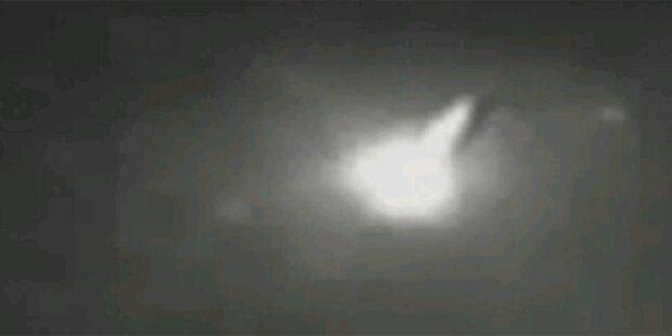 UFO-Alarm nach Lichtblitz