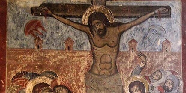 Zeigen alte Kirchen-Gemälde UFOs?