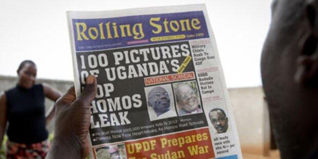 Zeitung ruft zur Tötung Homosexueller auf