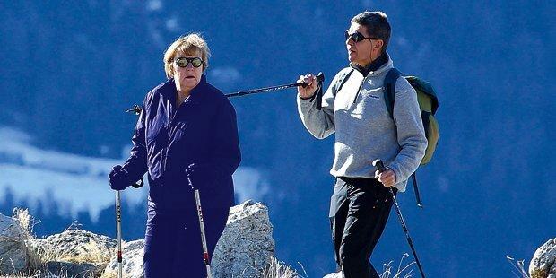 Merkel: So urlaubt mächtigste Frau der Welt