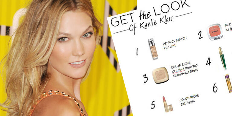 Karlie Kloss' Look - Step by Step