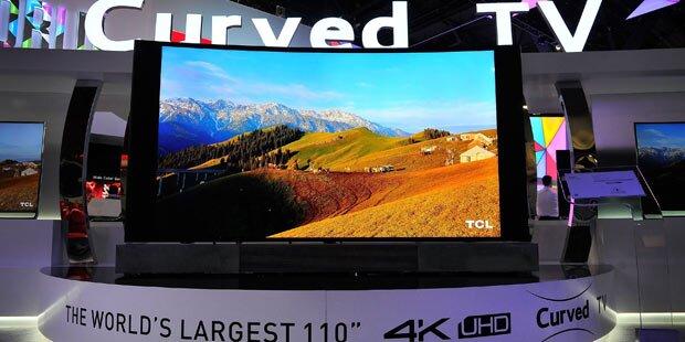 Super-TVs als CES-2015-Highlight