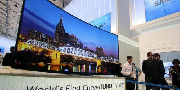 Das sind die neuen Super-UHD-TVs