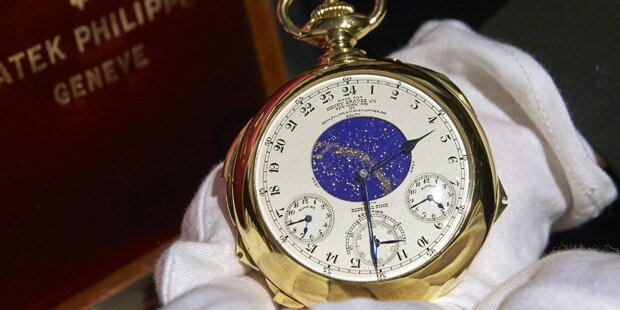 Teuerste Uhr der Welt ist verflucht