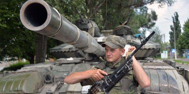 Feuer-Pause in der Ukraine