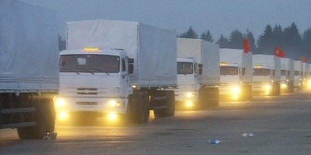 Kiew stoppt russischen Hilfs-Konvoi