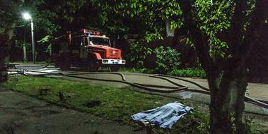 Psychiatrie stand in Flammen: Sechs Tote