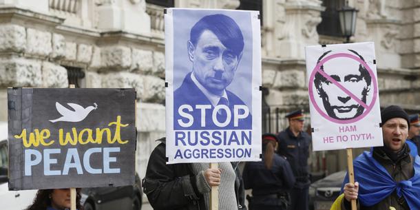 Ukraine Demo Wien