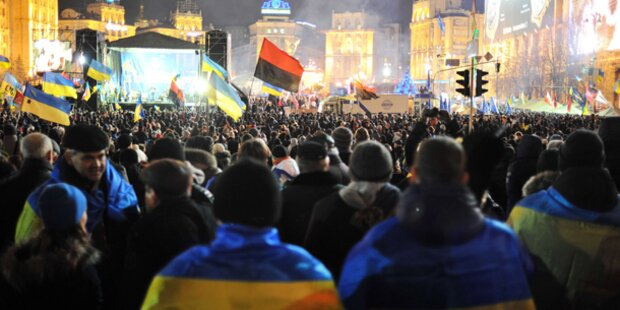 Ukraine: Polizei setzt Ultimatum