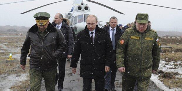 Putin drohte im Kampf um die Krim