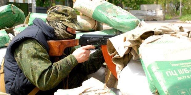 Ukrainische Soldaten in Hinterhalt getötet