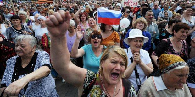 Ukraine: Schicksal des OSZE-Teams unklar