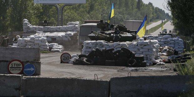 Russland soll Militär der Ukraine angreifen