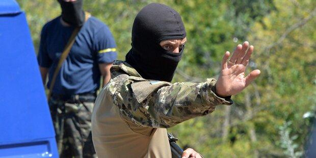 Ukraine: Russland leugnet Beteiligung