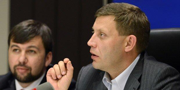 Seperatisten warnen Kiew