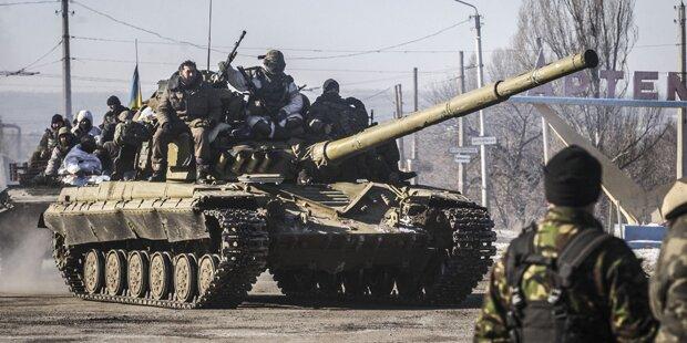 Russische Panzer in der Ukraine