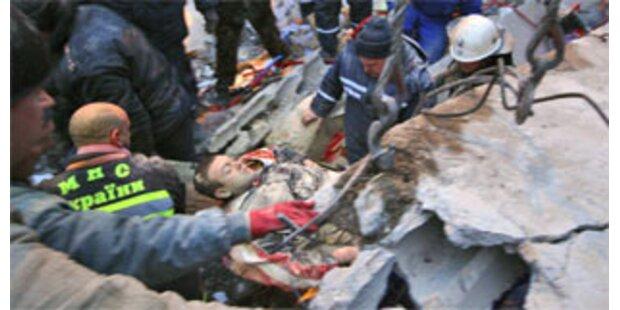 19 Tote nach Gasexplosion in Wohnhaus