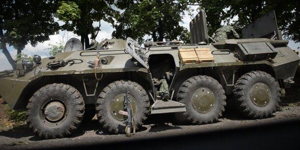Armee vertreibt Rebellen aus Slawjansk