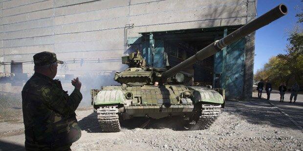 Ukraine schickt mehr Truppen in den Osten