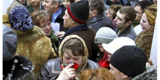65 Tote bei Explosion in Kohlebergwerk