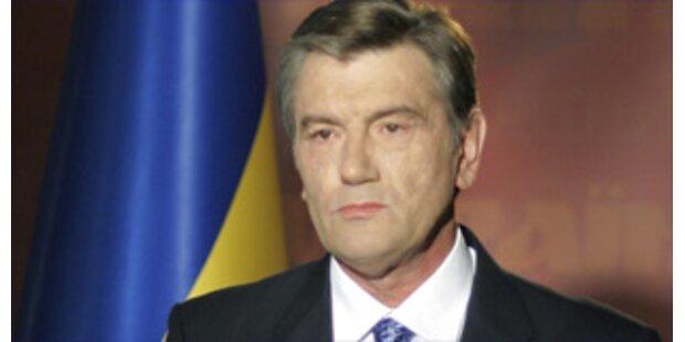 Ukrainischer Präsident löst Parlament auf