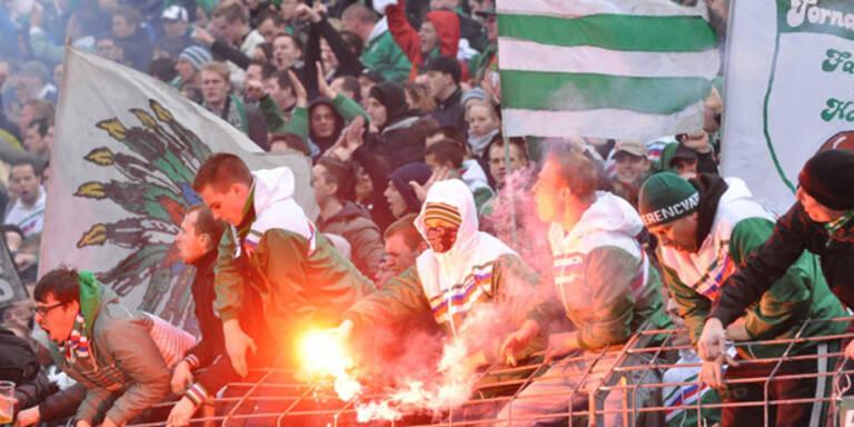 Rapid-Ultras feiern 25. Geburtstag