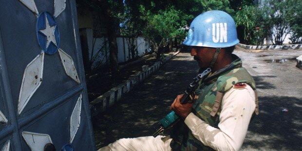 Vergewaltigungs-Vorwurf gegen UN-Truppen