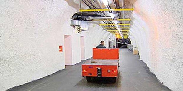 Der geheime Bunker der Regierung