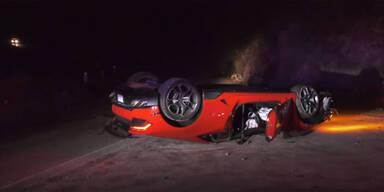 Geschrotteter Lamborghini lässt Polizei verzweifeln