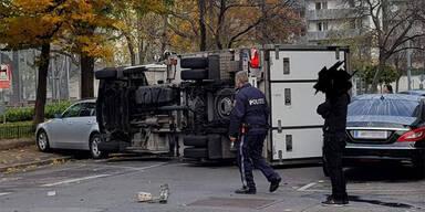 Kurioser Unfall in Wien