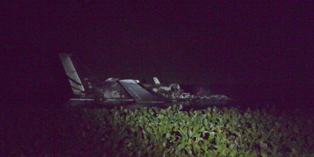 Flugzeugabsturz in Uruguay mit zehn Toten