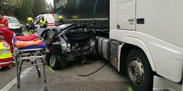 Nach Unfall: Retter wurden Geisterfahrer