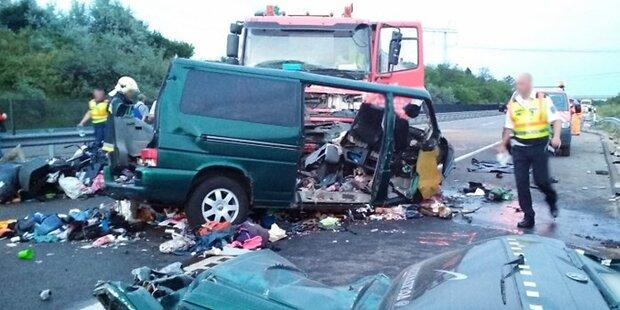 9 Tote: Fahrer streamt Horror-Crash auf Facebook