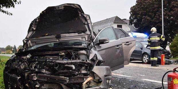 85-jährige Beifahrerin stirbt bei Horror-Crash