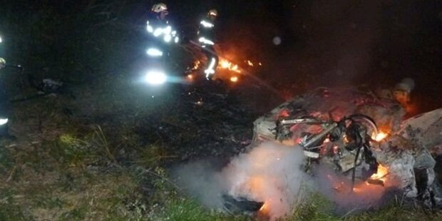 Horror-Crash nach Streit um Navi
