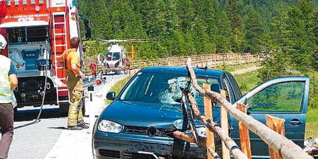 Horror-Unfall: Ehepaar von Pfählen aufgespießt