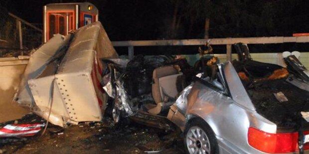 Ein Toter bei Unfall auf der Südautobahn