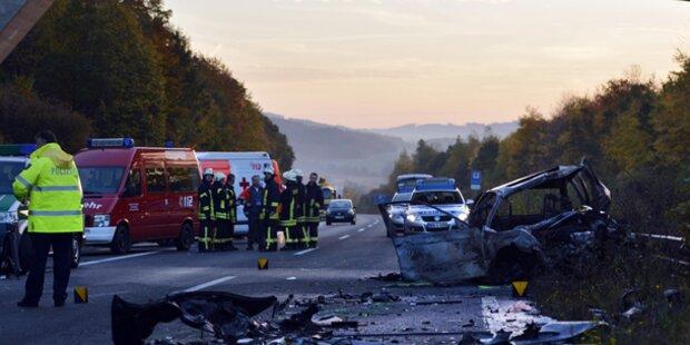 Horror-Crash fordert 5 Tote in Deutschland