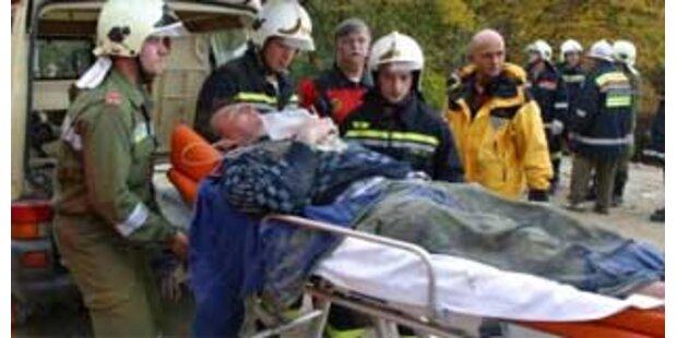 Pkw drehte auf S31 um: drei Schwerverletzte