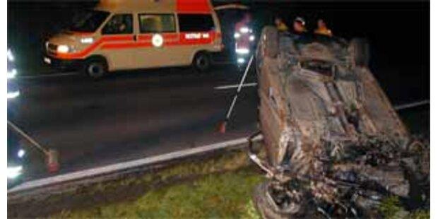 Zwei Tote bei Verkehrsunfällen in Oberösterreich