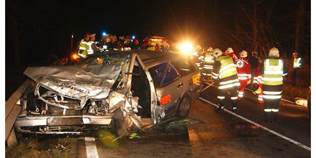 Zahlreiche Verletzte bei Unfällen im Montagfrühverkehr