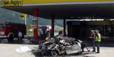 Tankstellenunfall: Es war Selbstmord