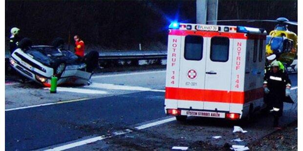 Crash auf A1 fordert ein Todesopfer